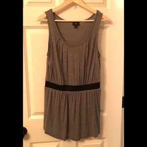Mossimo Mini Dress / Tunic Gray M